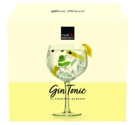 Gin Tonic Cocktails Set 650 ml 4/box