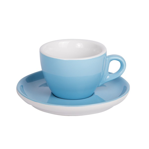 Coffee cup with saucer 160 ml blue 544c 6/box