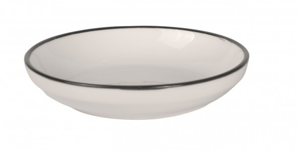Filippa Small Bowl with black rim Ø 15 cm 6/box