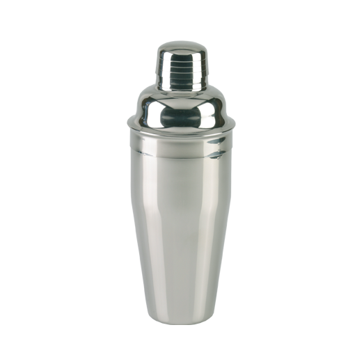 Cocktailshaker polished 3 pcs 650 ml