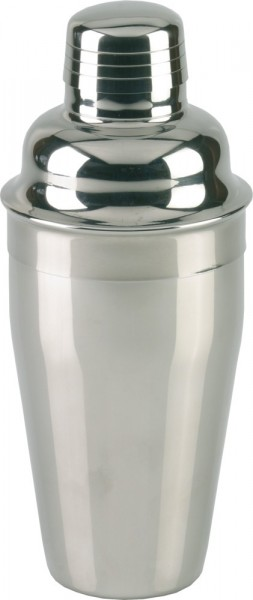 Cocktailshaker polished 3pcs 550 ml