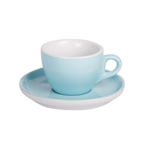 Coffee cup with saucer 160 ml blue 628c 6/box