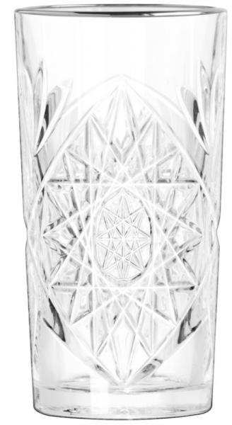 Hobstar Cooler with Platinum Rim 473 ml 12/box