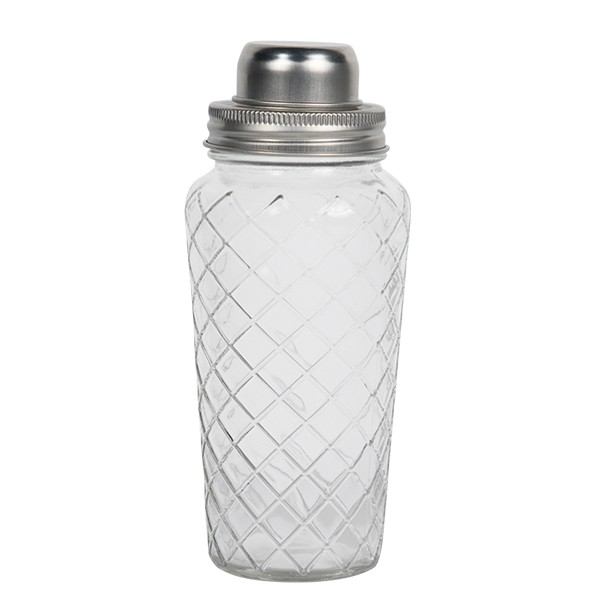 2 piece Glass Shaker 695 ml