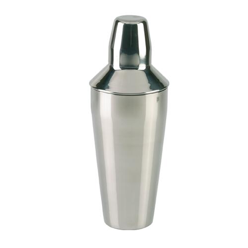 Cocktailshaker polished 3 pcs 820 ml