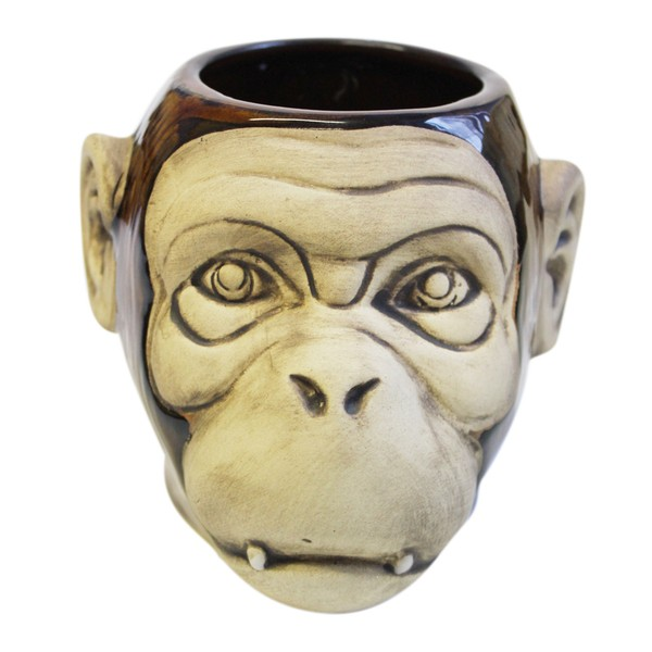 Tiki mug monkey shiny 500 ml