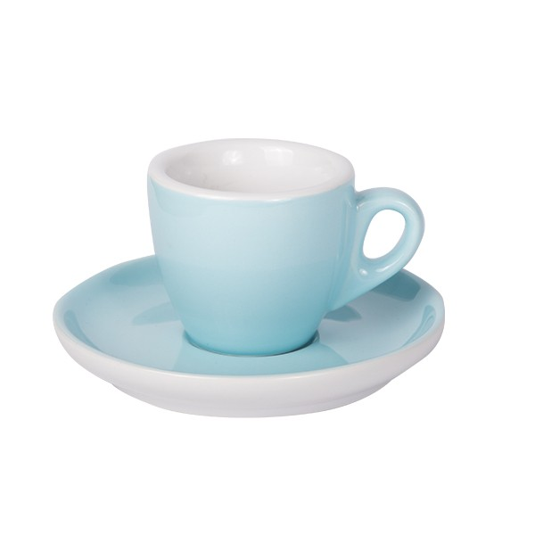 Espresso cup with saucer blue 628c 55 ml 6/box