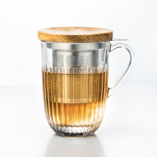 Set Tisaniere Ouessant Filter + Glas 1/box