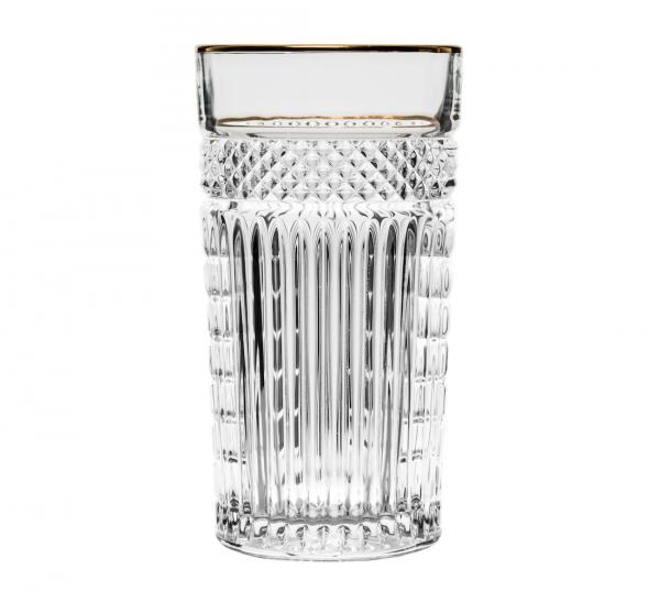 Libbey Radiant Longdrink glas met gouden rand