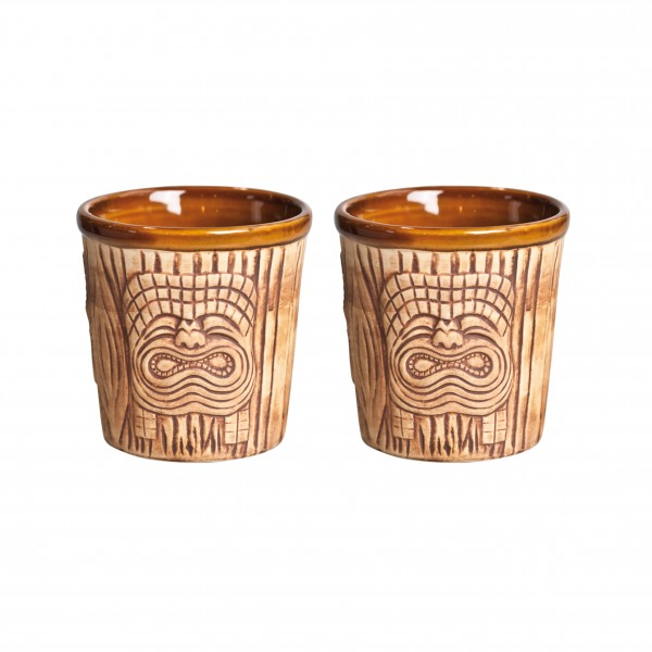 Ronin Bar Collection Tiki Mai Tai Mugs Craft Line