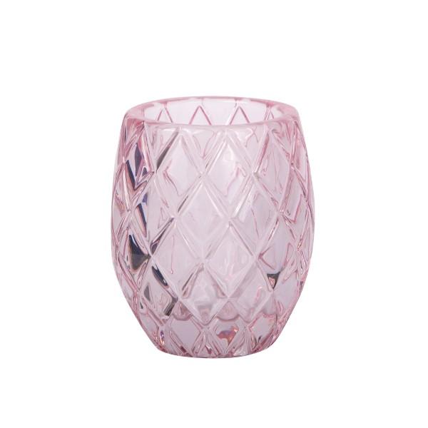 Kaarsenhouder voor waxinelichtjes roze