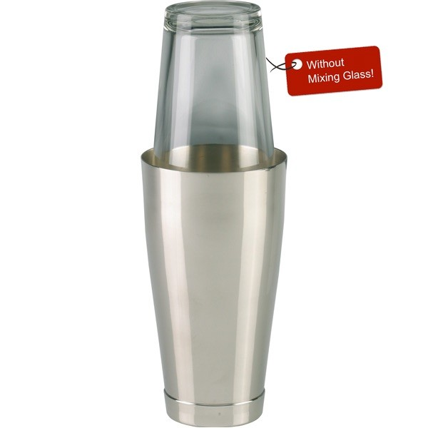 Boston Shaker nickel plated 800 ml