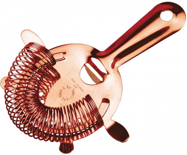 APS strainer copper plated with 4 prongs