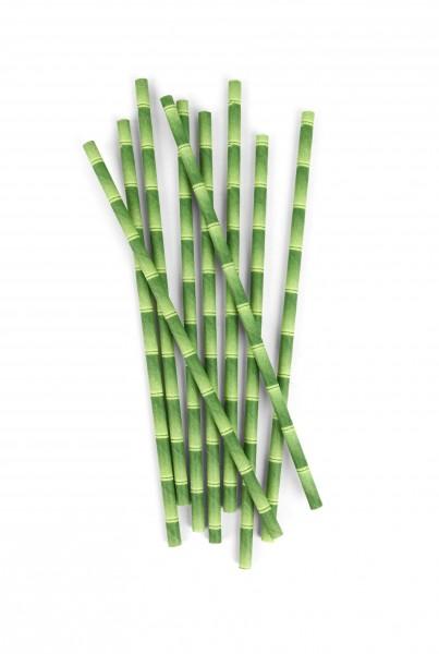 Papieren rietjes bamboo