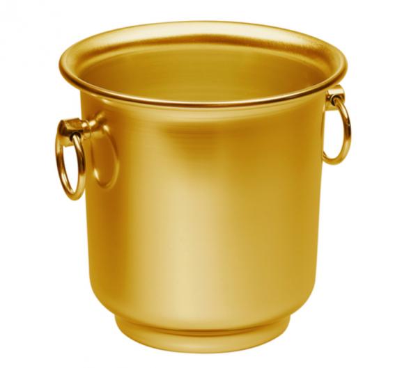 Ice bucket gold 21 cm