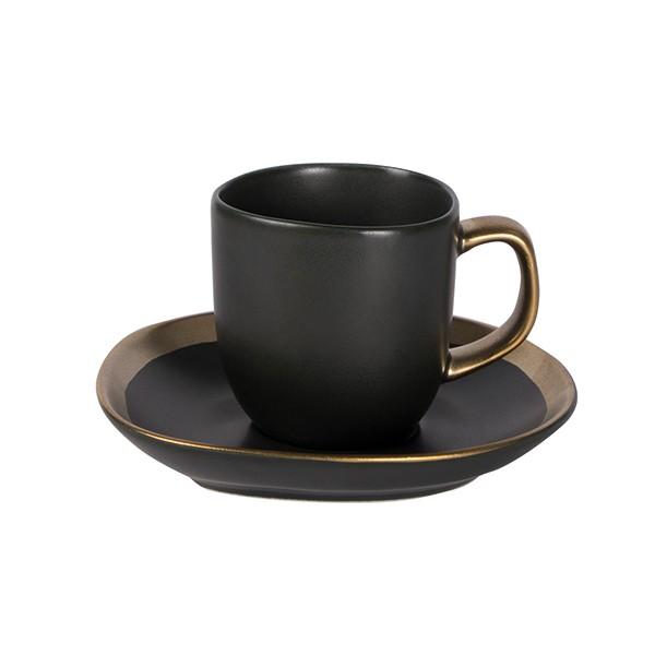 Dynasty Espresso kop incl. schotel 80 ml 6/box