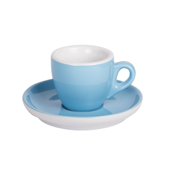 Espresso cup with saucer blue 544c 55 ml 6/box