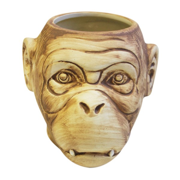 Tiki mug monkey matt 500 ml