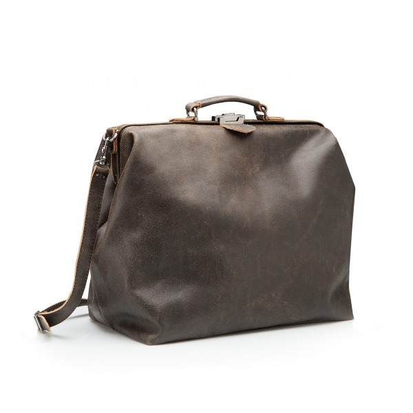 Barbag large with roll 'antique'
