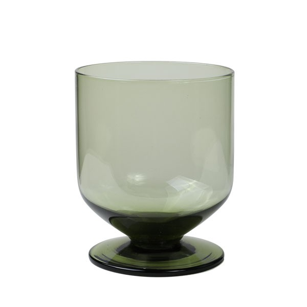Water Goblet Green 330 ml 6/box