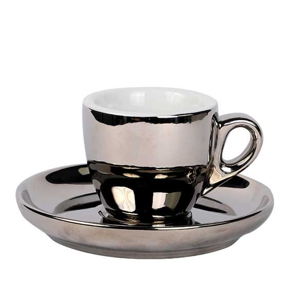 Espresso set zilver 55 ml