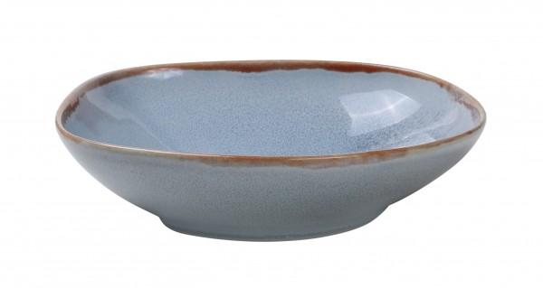 Ming Deep plate 19,3 cm blue 550ml 6/box