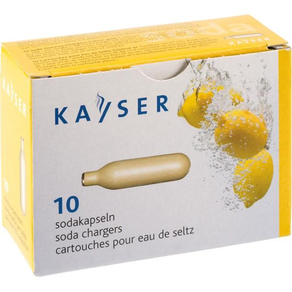 Cartridge for Soda Siphon 10/pak